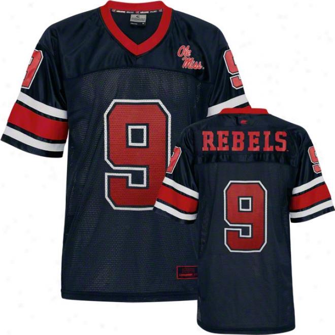 Mississippi Rebels Stadium Football Jerey