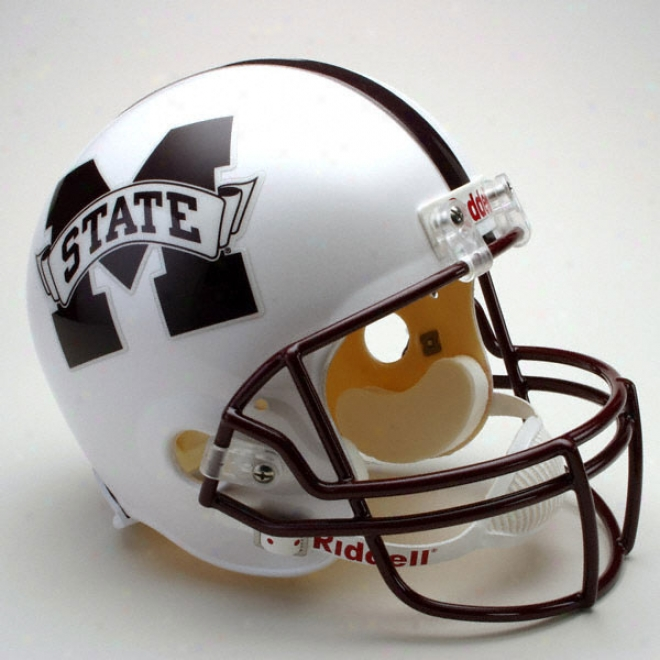 Mississippi State Bulldogs Deluxe Replica Riddell Helemt