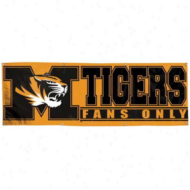 Missouri Tigers 2x6 Vinyl Baanner