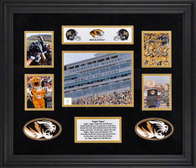 Missouri Tigers 5-photograph Framed Collage