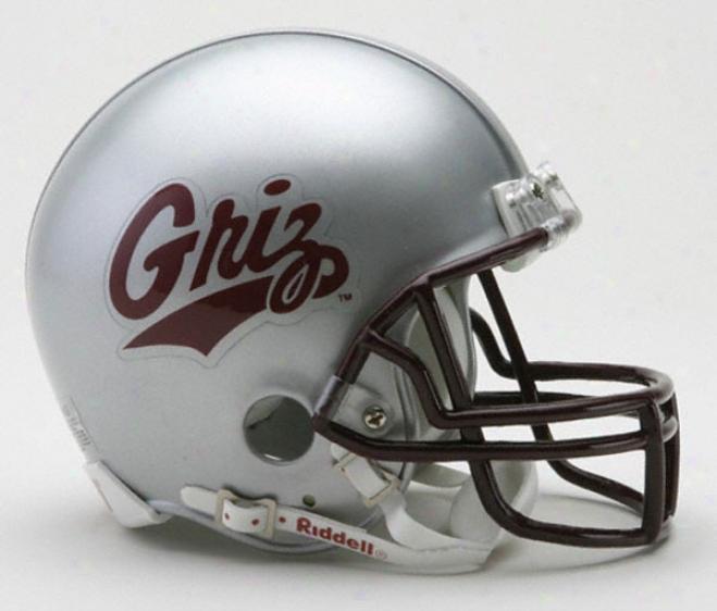 Montana Grizzlies Riddell Mini Helm