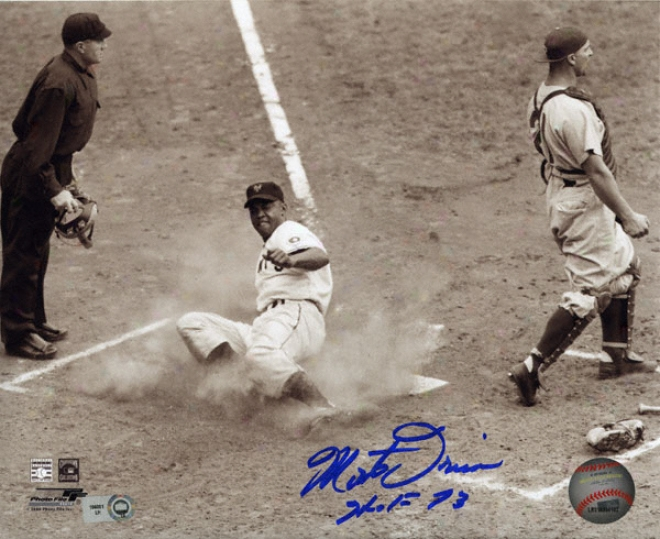 Monte Irvin San Francisco Giants 8x10 Autographed Photograph