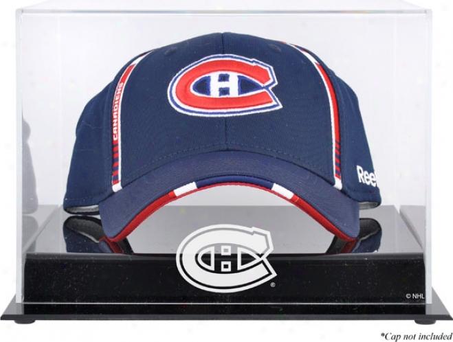 Montreal Canadiens Acrylic Cap Logo Display Case