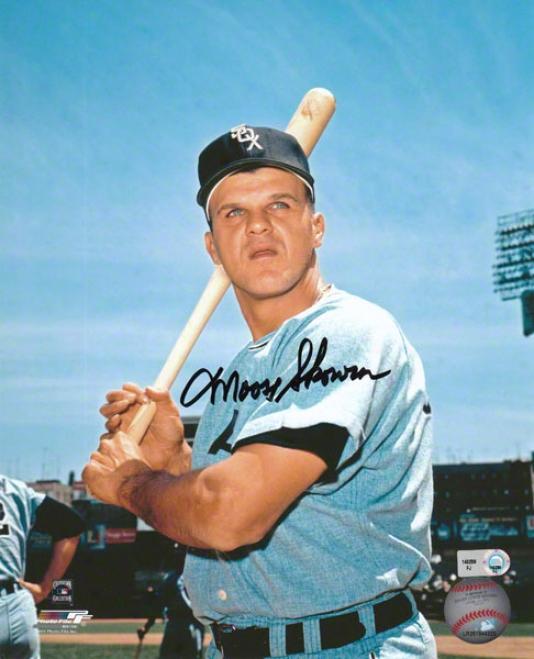 Mooze Skowron Chicago White Sox Autographed 8x10 Photograph