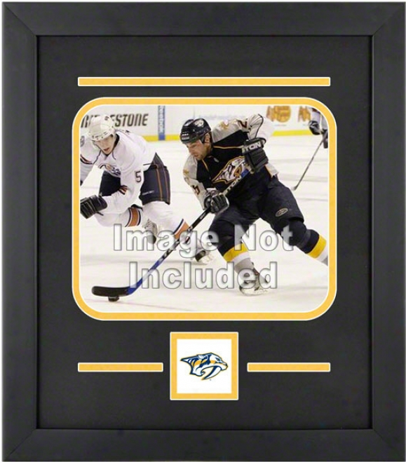 Nashvillw Predators 8x10 Horizontal Setup Frame With Team Logo