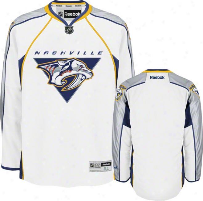 Nashville Predators White Premier Nhl Jersey (2009 Version)