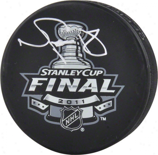 Nathan Horton Autographed Puck  Details: Boston Bruins, 2011 Nhl Stanley Cup Champions