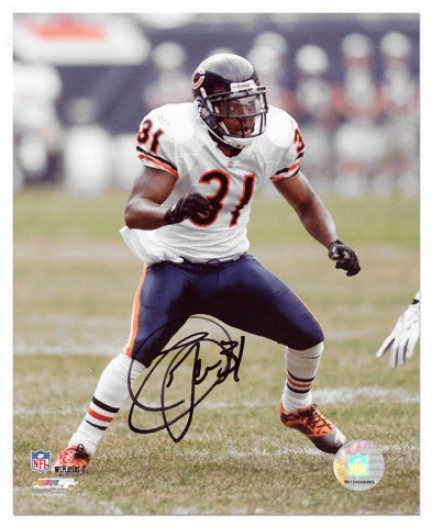 Nathan Vasher Chicago Bears Autographed 8x10 Photograph