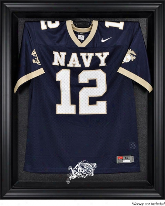 Navy Midshipmen Framed Logo Jersey Display Case
