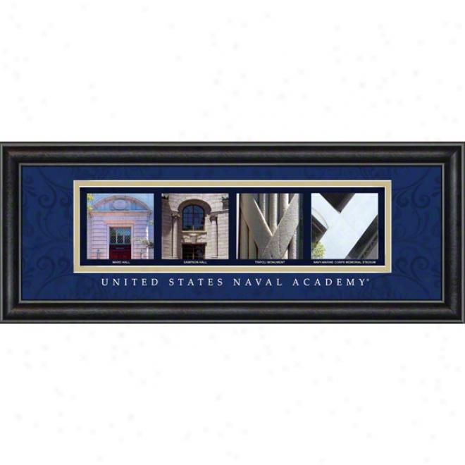 Navy Midshipmen Letter Art