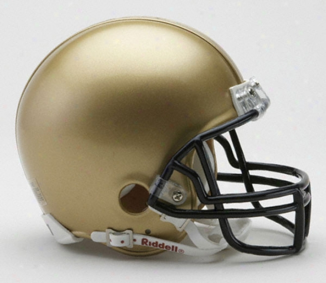 Navy Midshipmen Riddell Mini Helmet
