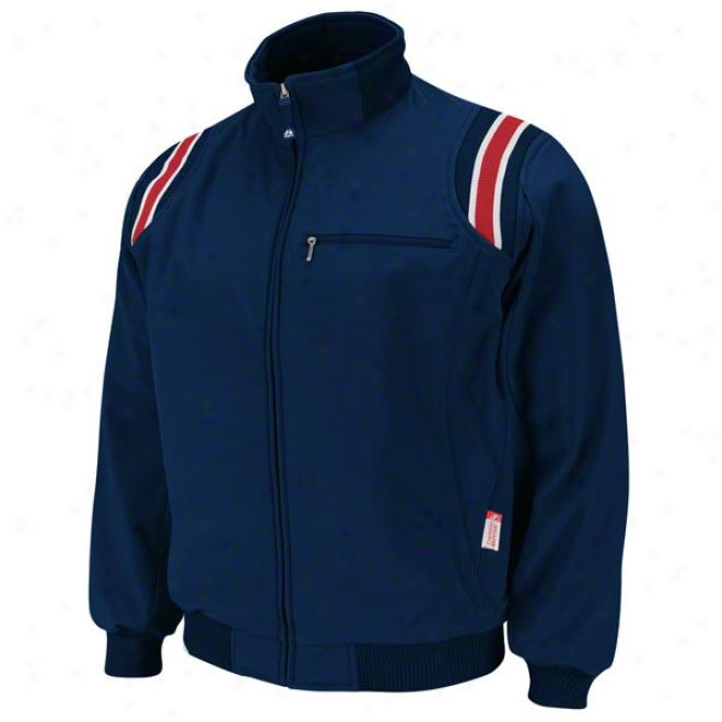 Navy Pro Style Therma Base Heavyweight Umpire Jacket