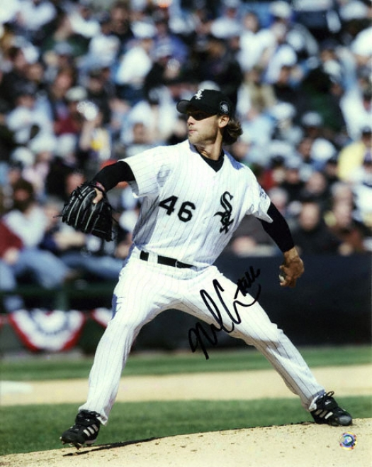 Neal Cotts Chicago White Sox Autographed 8x10 Photograph