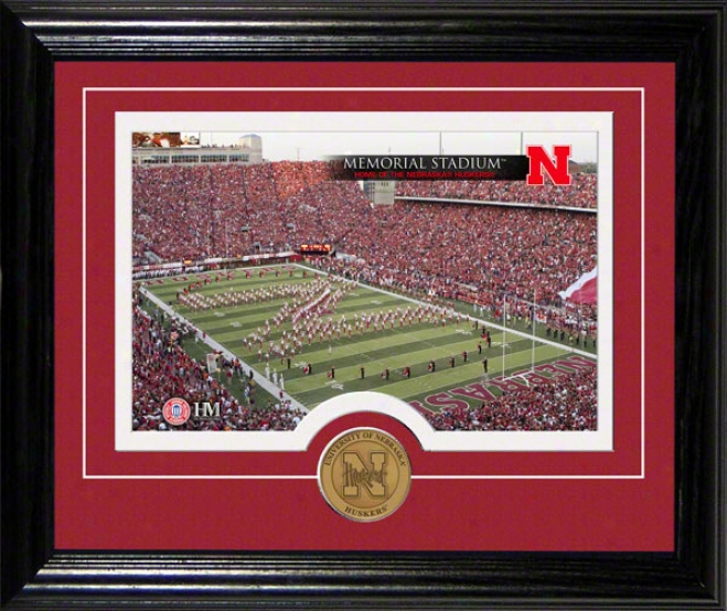 Nebraska Cornhuskers Memorial Stadium Desktop Photograph
