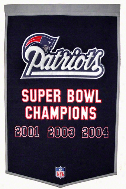 New England Patriits Dynasty Banner