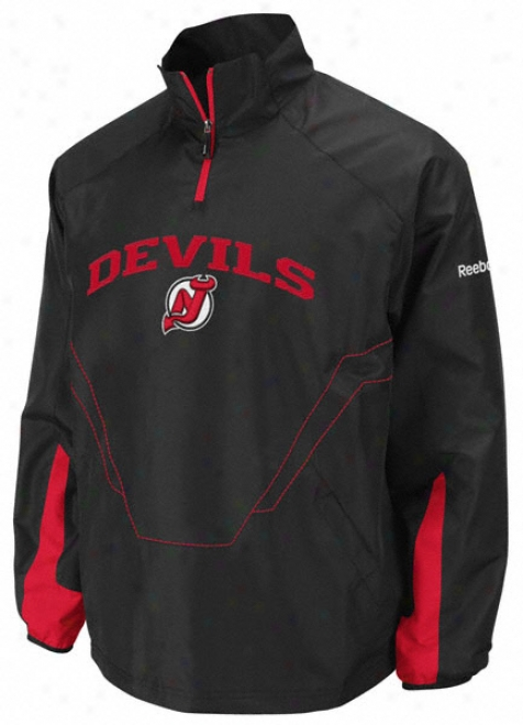 New Jersey Devils Center Concreted sugar 1/4 Zip Hot Jacket