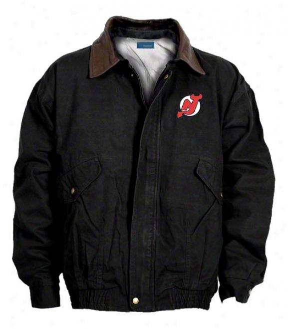 New Jersey Devils Jacket: Dismal Reebok Navigator Jacket