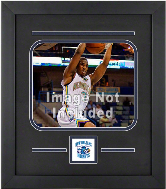 New Orleans Hornets 8x10 Horizontal Setup Frame With Team Logo