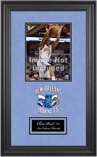 New Orleans Hornets Deluxe 8x10 Team Logo Frame