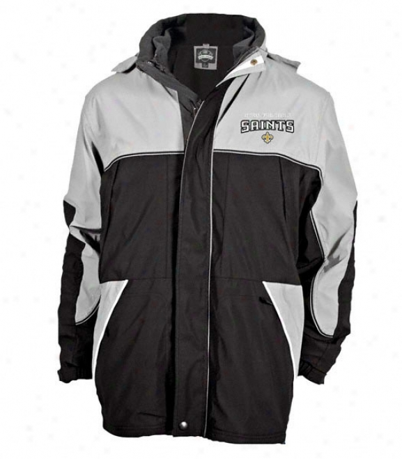 New Orleans Saints Quadrant 4 In 1 Systems Jacket