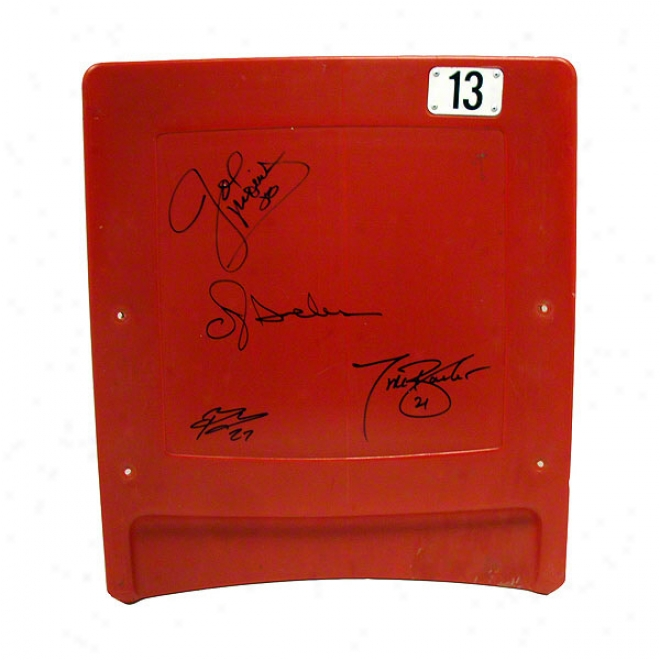 New York Giants Autographed Authentic Running Back Stadium Seatback