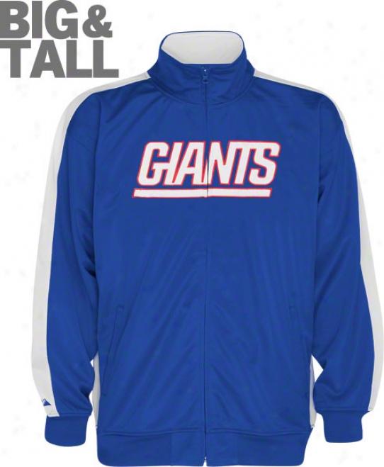 New York Giants Big & Tall Qb Follow Jacket