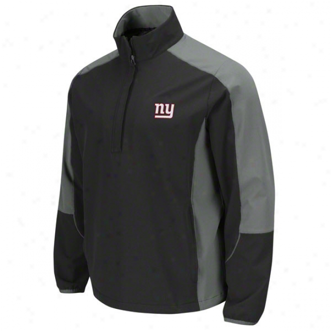 New York Giants Detsrmination Lightweight Performance Pull-over Jacket