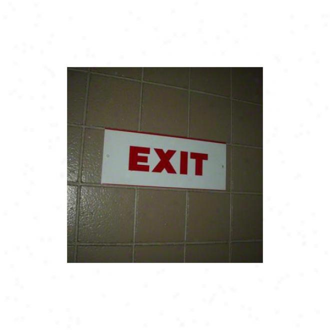 New Yofk Giants Stadium Used Exit Sign
