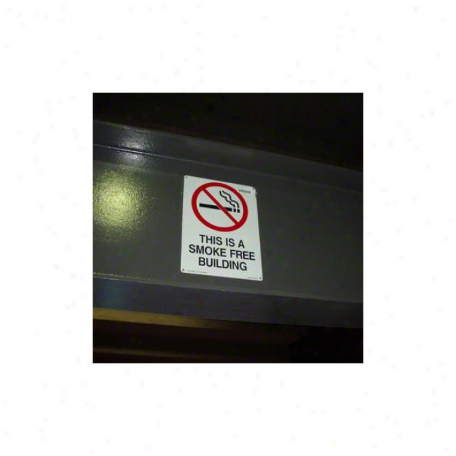 New York Giants Stadium Used Smoke-free Sign