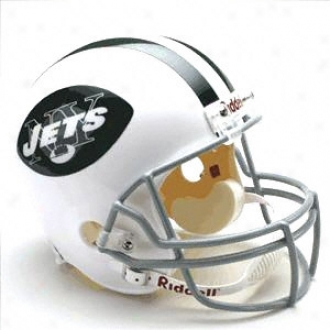 New York Jets 1965-1977 Deluxe Replica Riddell Throwback Full Size Helmet