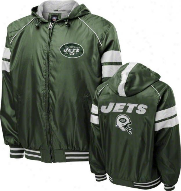 New York Jets Dedication Full-zip Lightweight Jacket