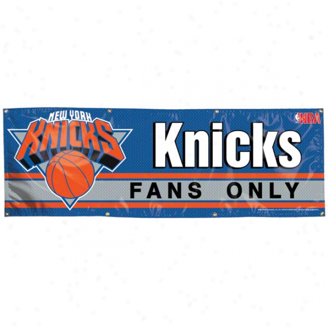 New York Knicks 2x6 Vinyl Banner