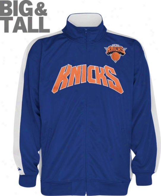 New York Knicks Biy & Tall In The Paint Track Jacket