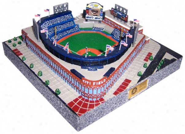 New York Mets - Citi Field Stadium Replica - Gold Series