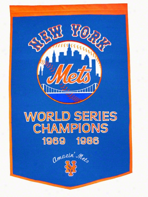 New York Mets Government Banner