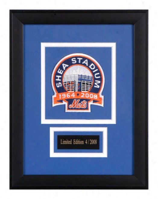 New York Mets Final Season Framed Tract