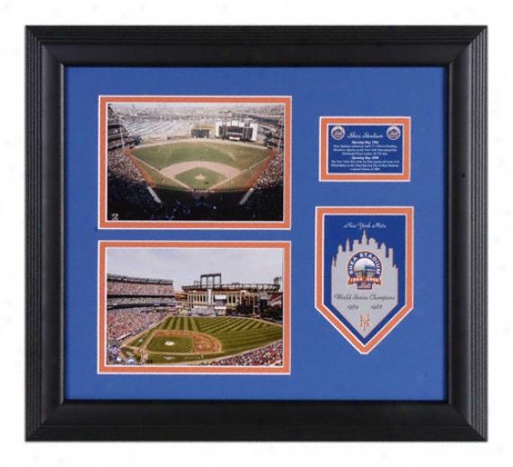 New York Mets Final Season Framed Photographs