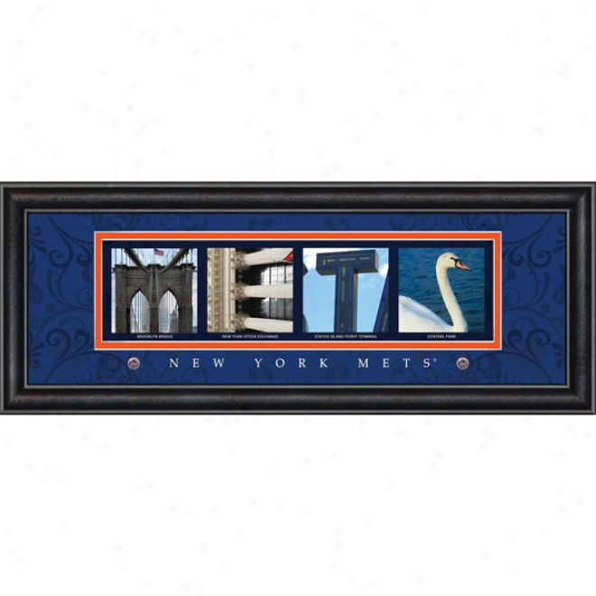 Starting a~ York Mets Letter Art