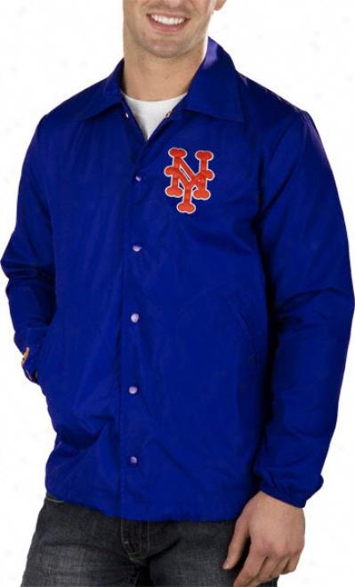 New York Mets Mithell & Nexs Battery Nylon Jacket
