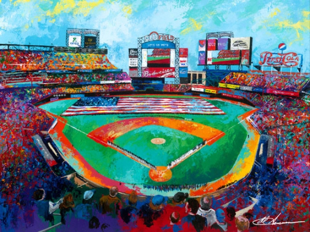 New York Mets - &quotciti Field&quot - Oversized - Unframed Giclee