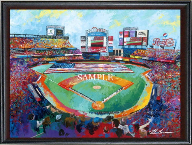 New York Mets - &quotciti Field&quot - Wall - Framed Giclee