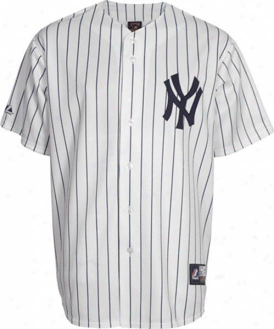 New York Yankees Cooperstown Pinstripe Replica Jersey