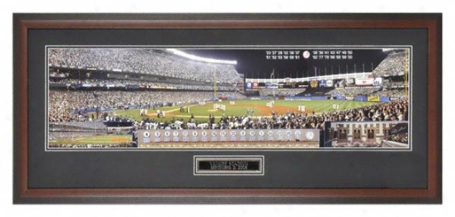New York Yankees - Last Night At Yankee Stadium - Fraed Panoramic