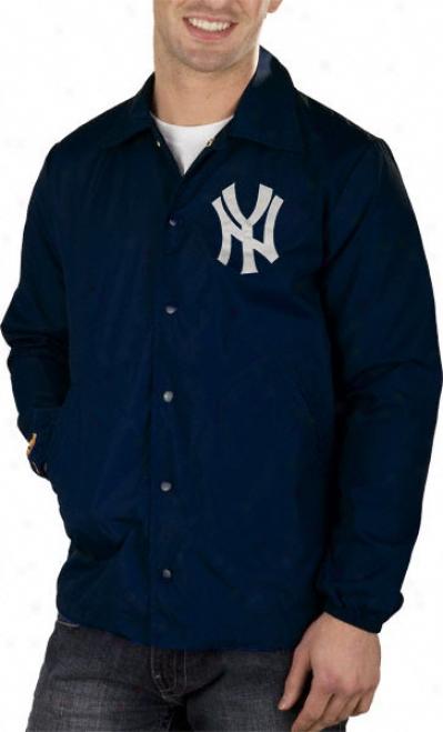 New York Yankees Mitchell & Ness Battery Nylon Jacket