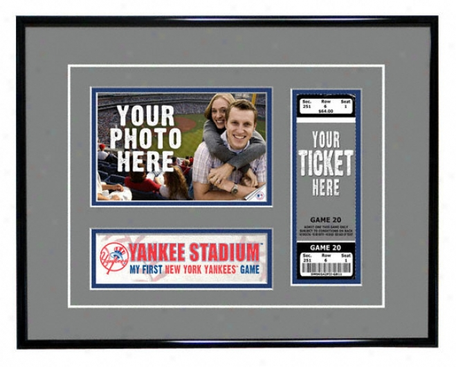 New York Yankees - My First Game - Ticket Fabricate