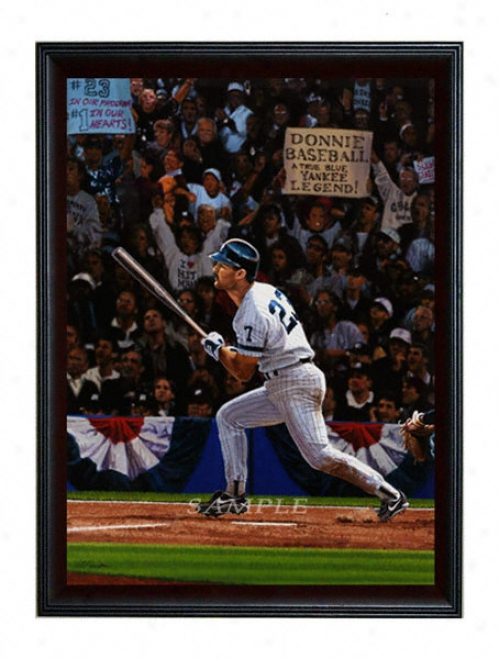 New York Yankees - &quotdonnis Baseball&quot - Large - Framed Giclee