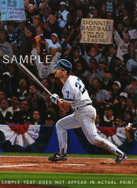 New York Yankees - &quotdonnie Baseball&quot - Wall - Unframed Giclee