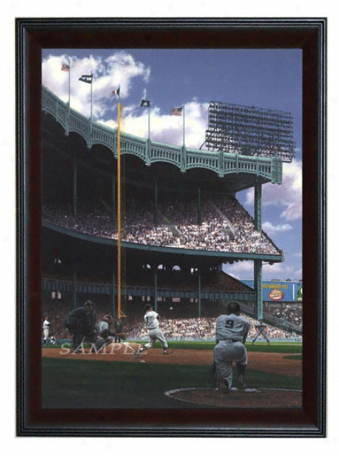 New York Yankees - &quotm&m Boys&quot - Large - Framed Giclee