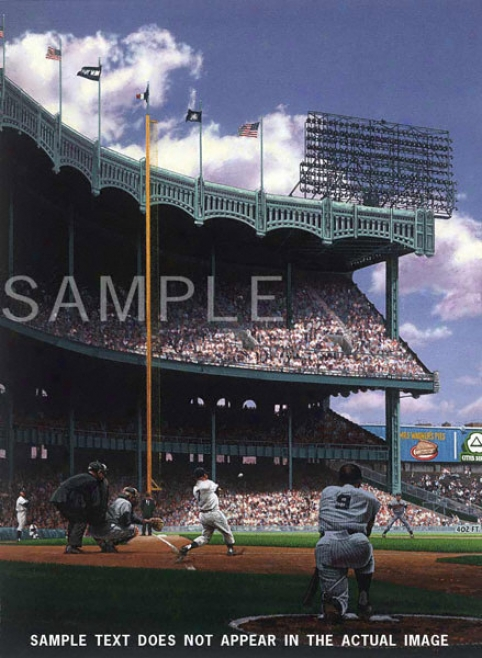 New York Yankees - &quotm&m Boys&quot - Large - Unframed Giclee