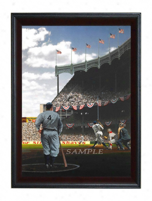 New York Yankees - &quotopening Day 1929&quot - Large - Framed Giclee